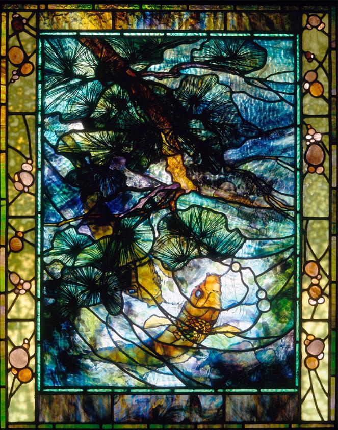 "Carp & Pine window | 30"" x 40"""