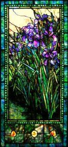 "Iris window | 24"" x 59"""