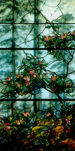 "Rhododendron window | 53"" x 98"""