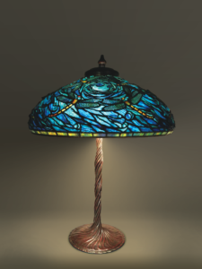 "Dragonflies lamp | 22"" diameter"